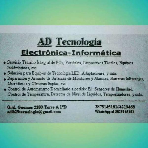 Servicio en tecnología