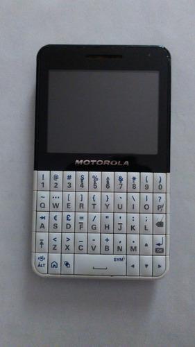 Teléfono celular motorola ex118 para repuestos