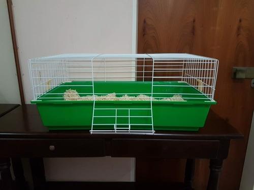 Jaula base plástica ideal conejo
