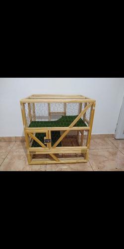 Jaula para conejo, cobayo, hamster