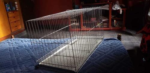 Jaula para conejos/coballos de 64 cm largo, 33 cm ancho