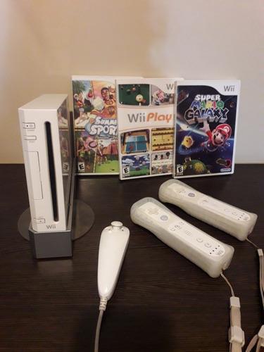 Nintendo wii consola juegos