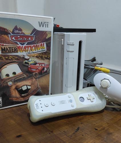 Nintendo wii / flasheada y con juegos orig.