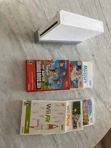 Nintendo wii + juegos + plataforma deportes y accesorios