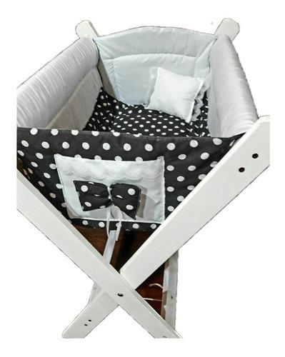Catre bebe cuna+acolchado+almohada!
