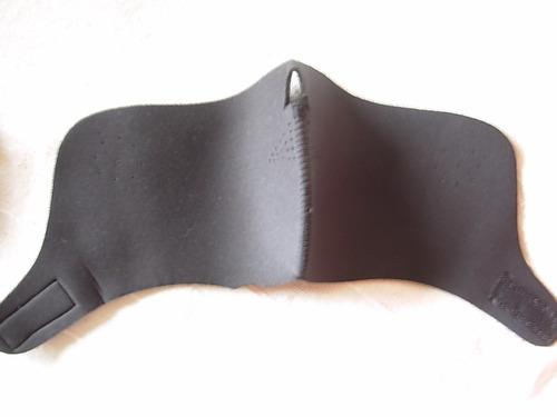 Barbijo máscara térmica neoprene anti-frio invierno