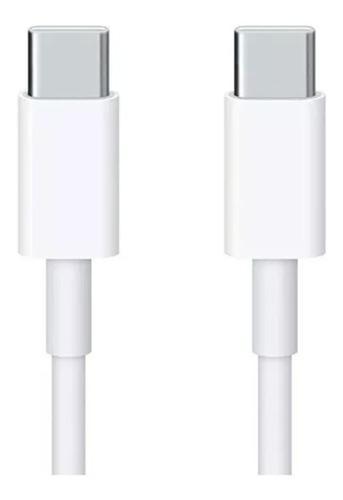 Cable carga apple tipo c a tipo c 2 metros apple ® original