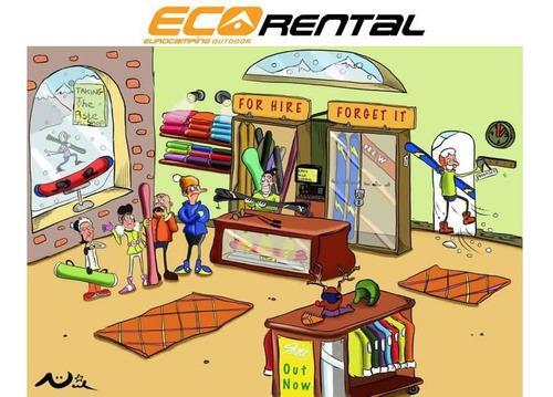 Eco rental alquiler indumentaria accesorios esqui ski nieve
