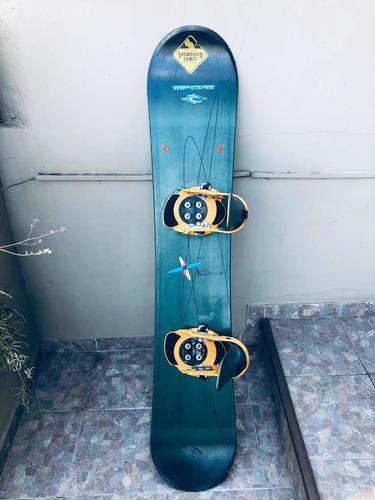 Tabla snowboard k2 fijaciones burton step in c/botas y fund
