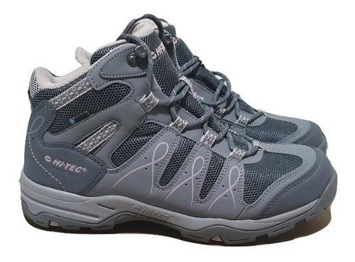 Borcegos botas hitec mujer montevideo impermeables trekking