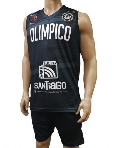 Camiseta de olímpico básquet, santiago del estero, adhoc