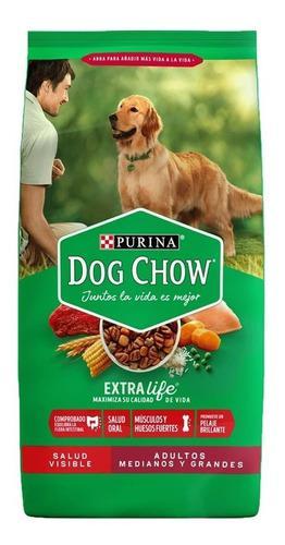Purina dog chow adultos 21 kg perros adultos el molino