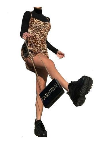 Zapatillas mujer plataforma alta tractor urbanas moda chunky