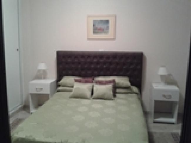 Alquilo con muebles en el centro un dormitorio