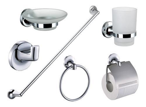 Accesorios de baño kit set juego dantes orleans 6 piezas
