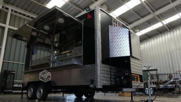 Carro de comida, food truck o restaurant rodante