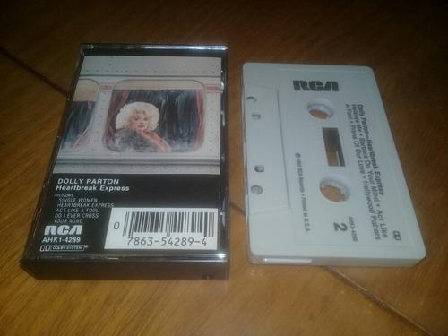 Dolly parton heartbreak express cassette made in usa