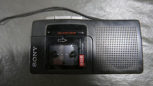 Grabador sony m-440 microcassette periodista grabador de voz