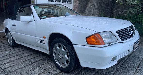 Mercedes benz sl 300-24v