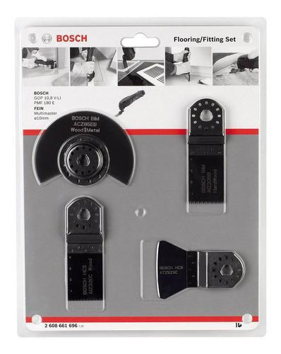 Set kit 4 accesorios sierra bosch pisos y madera 2608661696