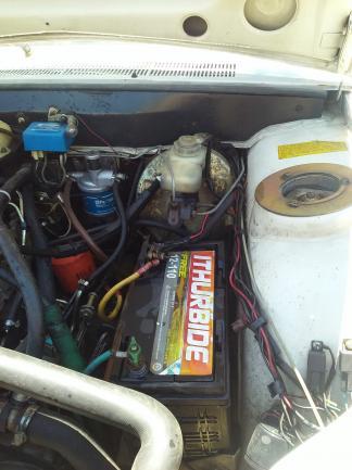 Pick up 504 diesel