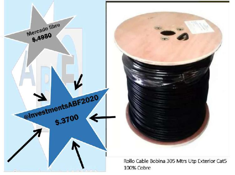 Cable 20 mts video bnc+alimentacion energia mod: bnc+dc