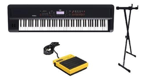 Combo korg kross2 88 teclas + pie + pedal ps1 caja cerrada