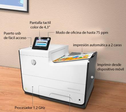 Impresora hp pagewide enterprise color 556dn 50ppm