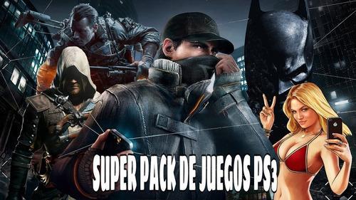 Juegos de ps3 pack