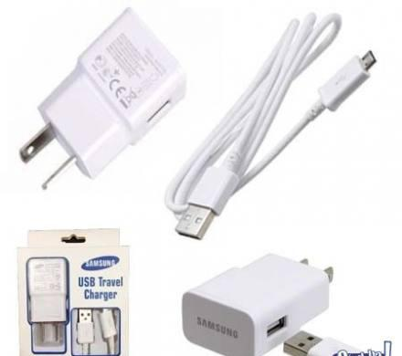 Kit cable cargador pared auto samsung s3 s4 s5 carga rapida