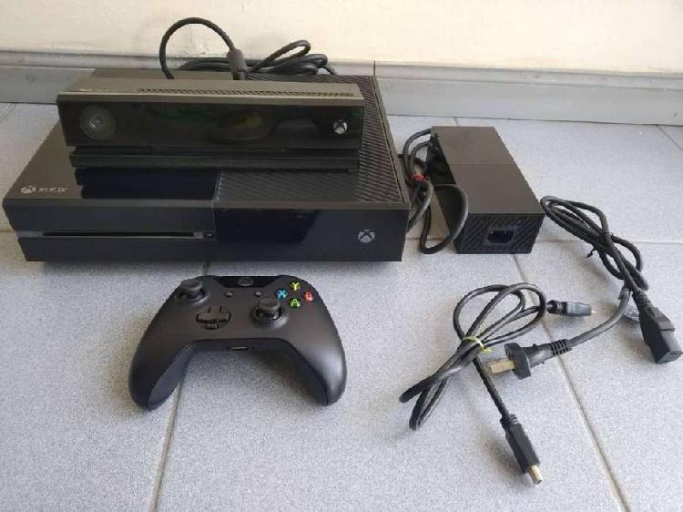 Xbox one con kinect y código de xbox live gold