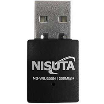 Antena wifi placa usb nisuta ns-wiu300n nano 300mbps norma n