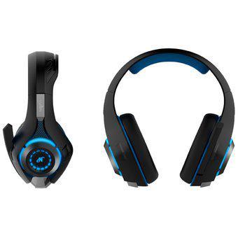 Auricular gamer headset ps4 play 4 microfono luz led nisuta