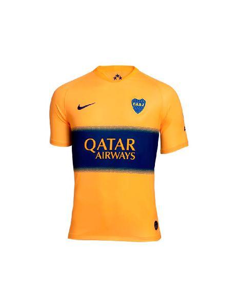 Camiseta niño nike boca juniors alternativa stadium 2019