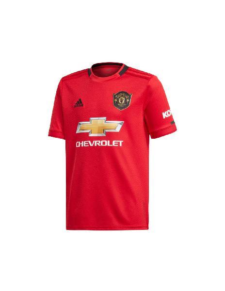 Camiseta niño adidas manchester united home hincha