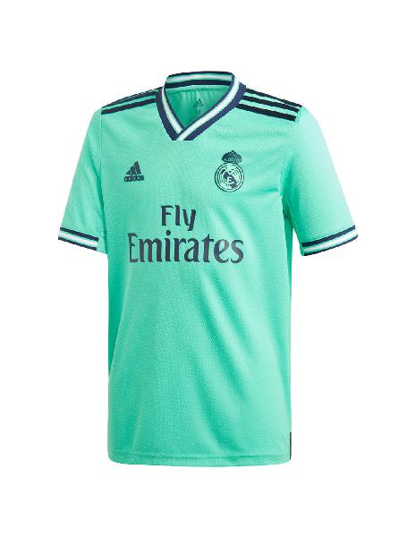 Camiseta niño adidas real madrid 3ra away hincha 2019/2020