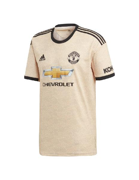Camiseta adidas manchester united away hincha 2da 2019-2020