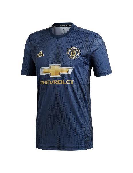 Camiseta adidas manchester united away hincha 3ra 2018-2019
