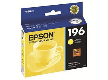 Cartucho amarillo epson 196 (t196420) - computer shopping