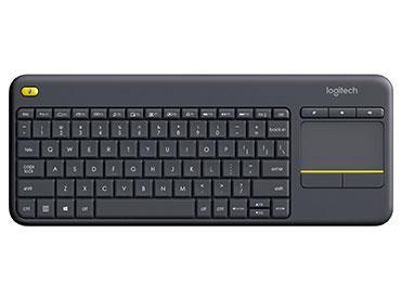 Teclado logitech wireless touch k400 plus - computer