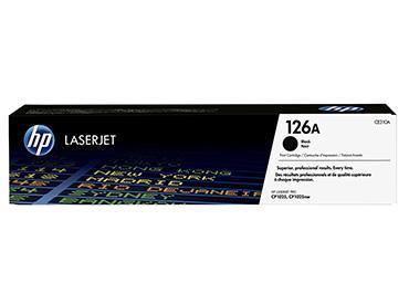 Tóner negro hp 126a laserjet (ce310a) original - computer