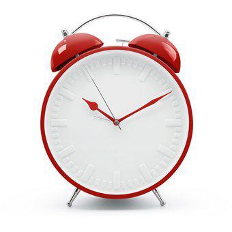 Reloj despertador con campanilla gigante big time de gato