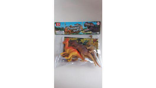 Dinosaurios x 3 nuevos bolsa sellada dinosaur world