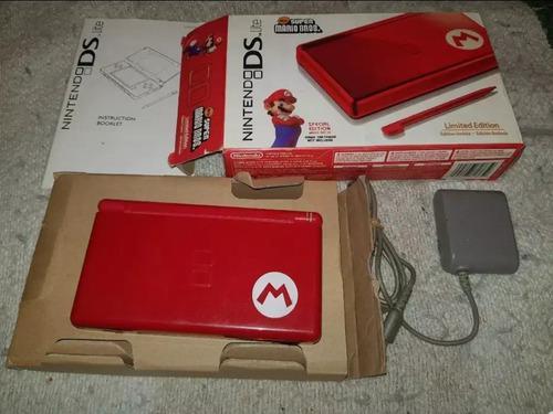 Nintendo ds lite mario