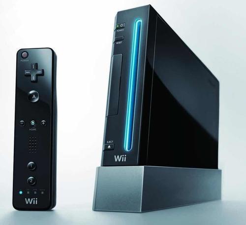 Nintendo wii black/negra s/chipear