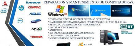 Servicio tecnico de pc, notebook, netbook y celulares