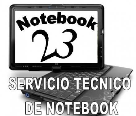 Servicio tecnico solo notebooks
