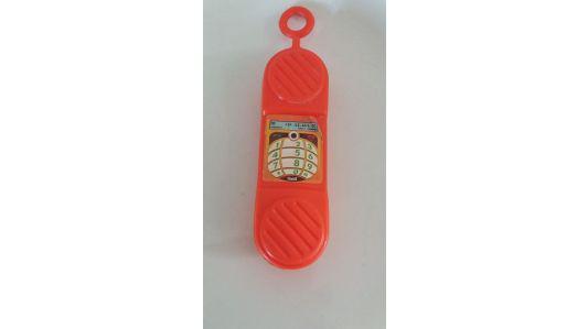 Telefono celular plastico alto 19 cm ancho 5 cm muy buen
