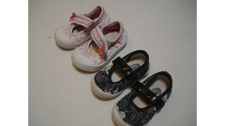 Calzado de nena x2 (n..17 y 19)