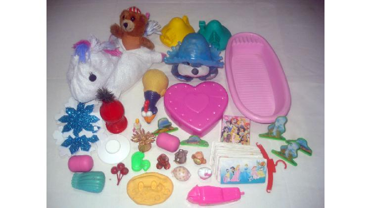 lote juguetes de nena x 30 (usados)